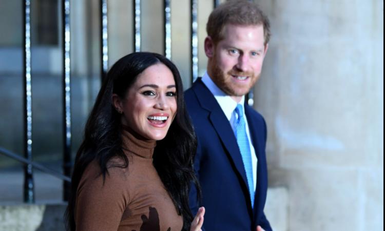 Príncipe e atriz se casaram em 2018   Foto: Daniel Leal-Olivas   Pool   AFP - Foto: Daniel Leal-Olivas   Pool   AFP