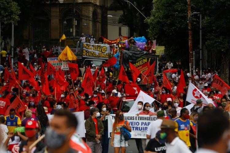 Na Bahia, outras 20 cidades confirmaram realização de atos contra Bolsonaro   Foto: Rafael Martins   Agência A Tarde - Foto: Rafael Martins   Agência A Tarde