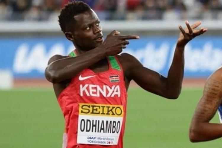 Odhiambo foi suspenso provisoriamente a poucas horas de competir nas séries de 100 metros | Foto: Divulgação - Foto: Divulgação