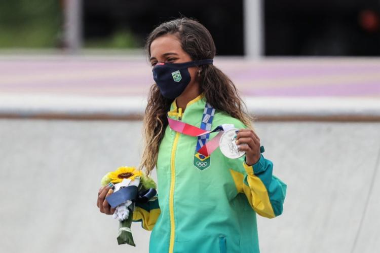 Ela se tornou a brasileira mais jovem a conquistar uma medalhas nas Olímpiadas | Foto: Wander Roberto | COB - Foto: Wander Roberto | COB
