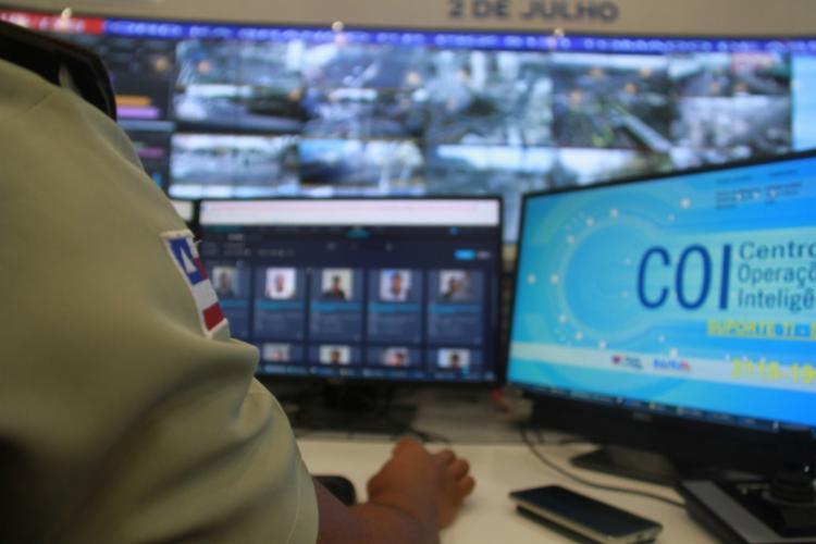 A tecnologia, lançada em 2018, já foi responsável pela prisão de 216 procurados pela Justiça | Foto: Divulgação | SSP-BA - Foto: Divulgação | SSP-BA