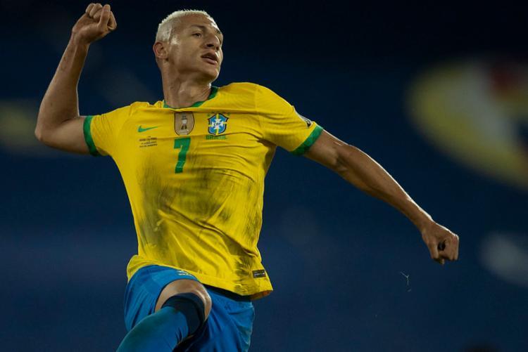 Atacante está com o grupo que disputa a Copa América, no Brasil | Foto: Lucas Figueiredo | CBF - Foto: Lucas Figueiredo | CBF