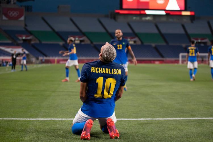 Atacante marcou cinco gols na competição | Foto: Lucas Figueiredo | CBF - Foto: Lucas Figueiredo | CBF