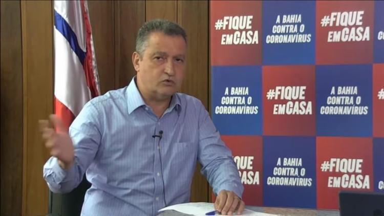 Governador disse que estagnação da queda não permite aumentar flexibilizações - Foto: Reprodução | YouTube