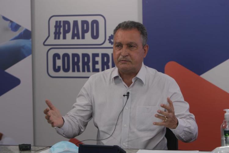 Governador falou sobre convocação de candidatos aprovados em concursos | Foto: Alberto Coutinho | GOVBA - Foto: Alberto Coutinho | GOVBA