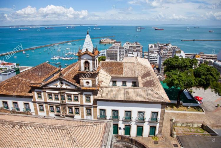 A Santa Casa de Misericórdia da Bahia foi uma das primeiras instituições a reunir documentos históricos - Foto: Divulgação