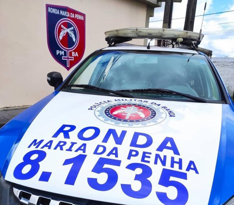 Foi a própria mulher quem acionou a polícia   Foto: Divulgação   SSP-BA - Foto: Divulgação   SSP-BA