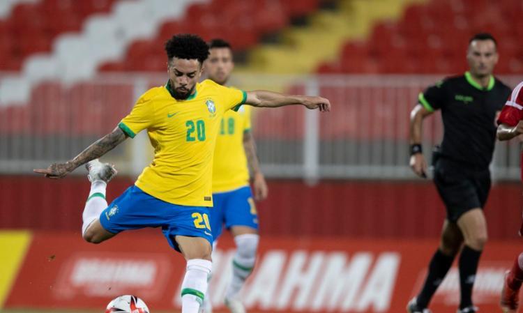 Brasil superou os Emirados Árabes por 5 a 2 na Sérvia   Foto: Lucas Figueiredo   CBF - Foto: Lucas Figueiredo   CBF