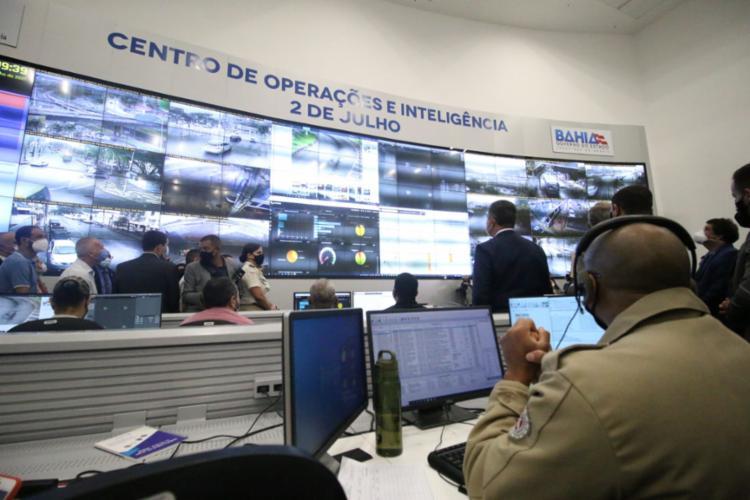 Tecnologia já foi responsável pela prisão de 211 procurados | Foto: Divulgação / SSP - Foto: Divulgação / SSP