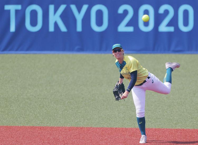 O softbol estreou no programa olímpico em Atlanta-1996 e esteve nos Jogos entre aquela edição e a de 2008 | Foto: Kazuhiro Fujihara | AFP - Foto: Kazuhiro Fujihara | AFP