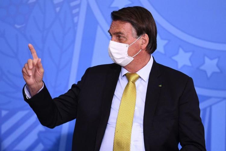 Bolsonaro voltou a dizer que o Supremo deu muito mais poderes para governadores e prefeitos do que para ele | Foto: Evaristo Sá | AFP - Foto: Evaristo Sá | AFP