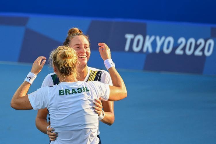 Agora, o Brasil tem o total de oito medalhas nas Olimpíadas | Foto: Vincenzo Pinto | AFP - Foto: Vincenzo Pinto | AFP