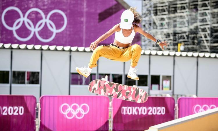 O Skate é uma das novidades em Tóquio   Foto: Gaspar Nóbrega   COB - Foto: Gaspar Nóbrega   COB