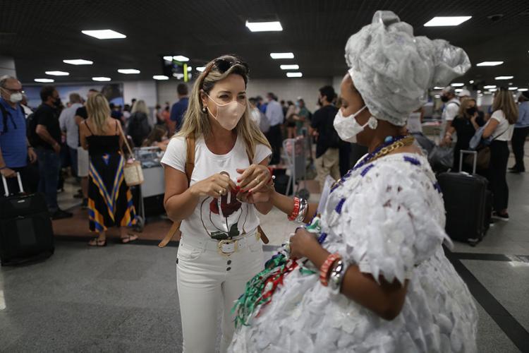 Brasileiros estão esperando apenas a pandemia refluir para começar a viajar   Foto: Raphael Muller   Ag. A TARDE   12.2.2021 - Foto: Raphael Muller   Ag. A TARDE   12.2.2021