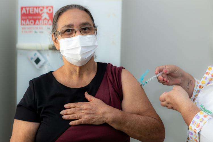 A marca foi alcançada neste sábado, 10, segundo a Secretaria de Saúde do Estado (Sesab)   Foto: Divulgação   Sesab - Foto: Divulgação   Sesab