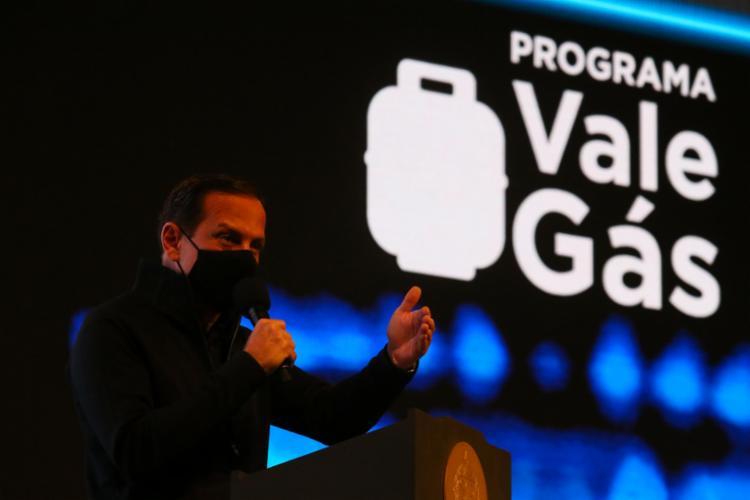 Governador de São Paulo provocou ao dizer que Bolsonaro pode Pode copiar outros programas sociais paulistas | Foto: Gov/SP - Foto: Gov/SP