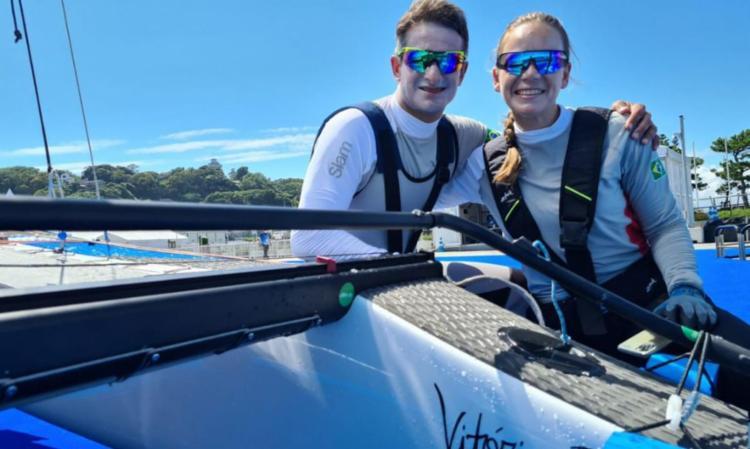 Com raia olímpica liberada, barcos caem na água e iniciam treinos | Foto: Daniel Varsano | COB - Foto: Daniel Varsano | COB