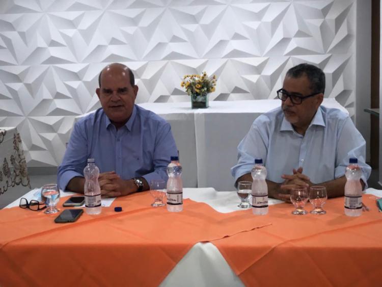 Atual presidente da Câmara de Jacobina, Cruz (à esq) está em seu sexto mandato   Foto: Divulgação - Foto: Divulgação
