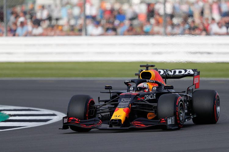 Verstappen ficou à frente do segundo colocado, Lando Norris (McLaren), por 779 milissegundos | Foto: Adrian Dennis | AFP - Foto: Adrian Dennis | AFP
