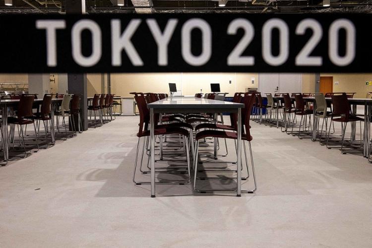 A Vila Olímpica é o único lugar onde os atletas podem comer e saborear a famosa culinária japonesa | Foto: Behrouz Mehri | AFP - Foto: Behrouz Mehri | AFP
