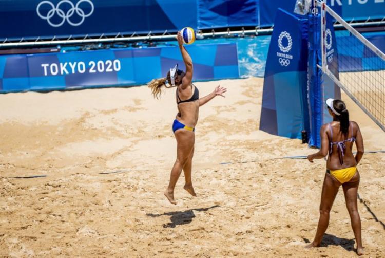 Brasileiras ganharam com tranquilidade | Foto: Miriam Jeske | COB - Foto: Miriam Jeske | COB