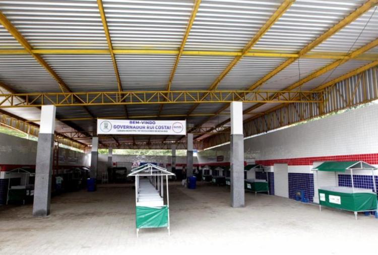 População de Nova Ibiá recebe mercado municipal reformado