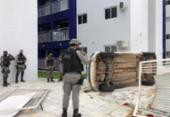 Viatura da PM capota durante perseguição em João Pessoa; vídeo | Foto: