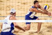 Vôlei de praia: Alison e Álvaro Filho perdem nas quartas e são eliminados | Foto: Gaspar Nóbrega | COB
