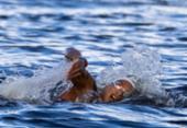 Baiana Ana Marcela conquista o ouro nos 10 km da maratona aquática feminina | Foto: Jonne Roriz | COB