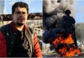 Prisão de ativista suspeito de incendiar estátua de Borba Gato é revogada | Foto: