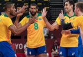 Brasil dá sorte em sorteio e enfrenta Japão nas quartas-de-final do vôlei masculino | Foto: Julio César Guimarães I COB