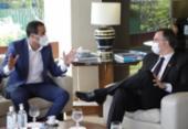 Bruno Reis se reúne com Rodrigo Pacheco em Brasília | Foto: Divulgação