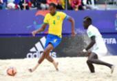 Futebol de areia Brasil cai nas quartas do Mundial | Foto: