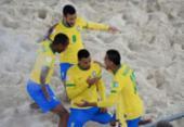 Brasil goleia e vai às quartas da Copa do Mundo de Futebol de Areia | Foto: