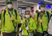 Baianos Bia Ferreira e Hebert Conceição desembarcam em São Paulo | Foto: Reprodução | Instagram