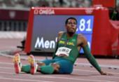 Paulo André Camilo termina em oitavo e fica fora da final dos 100m | Foto: Javier Soriano | AFP