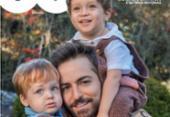 Em ensaio do Dia dos Pais, Thales Bretas fala sobre ausência de Paulo Gustavo | Foto: Divulgação | Fábio Bartelt