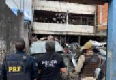 Operação contra comércio ilegal de autopeças é deflagrada no Subúrbio Ferroviário de Salvador | Foto: Divulgação/ PRF