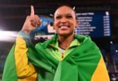 Rebeca Andrade será porta-bandeira do Brasil na cerimônia de encerramento dos Jogos Olímpicos | Foto: