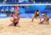 Vôlei de praia: Ágatha e Duda perdem para dupla alemã nas oitavas e são eliminadas | Foto: Daniel Leal-Olivas | AFP