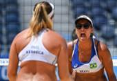 Vôlei de Praia: Ana Patrícia e Rebecca vencem chinesas e estão nas quartas | Foto: