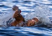 Ana Marcela dispara no fim e vence a maratona aquática | Jonne Roriz | COB