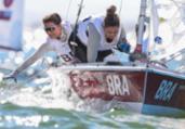 Brasileiras terminam em nono na classe 470 da vela | Wander Roberto | COB