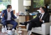 Bruno Reis se reúne com Rodrigo Pacheco em Brasília | Divulgação