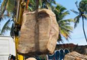 Caixas misteriosas são encontradas em Praia do Flamengo | Divulgação | Limpurb
