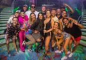 Claudia Leitte recebe Anitta, Xanddy e Carla em show | Reprodução | Instagram