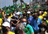 Manifestantes realizam ato em defesa do voto impresso | Felipe iruatã | Ag. A Tarde