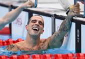 Bruno Fratus é bronze nos 50m livre | Oli Scarff | AFP