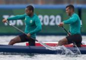 Isaquias e Godman vão à final do C2 1.000m na canoagem | Júlio César Guimarães | COB