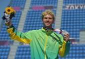 Skate: Pedro Barros garante prata para o Brasil no park | Lionel Bonaventure | AFP